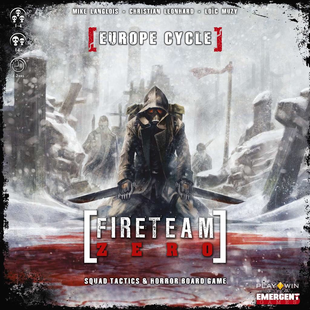 Image result for Fireteam Zero: The Europe Cycle board game