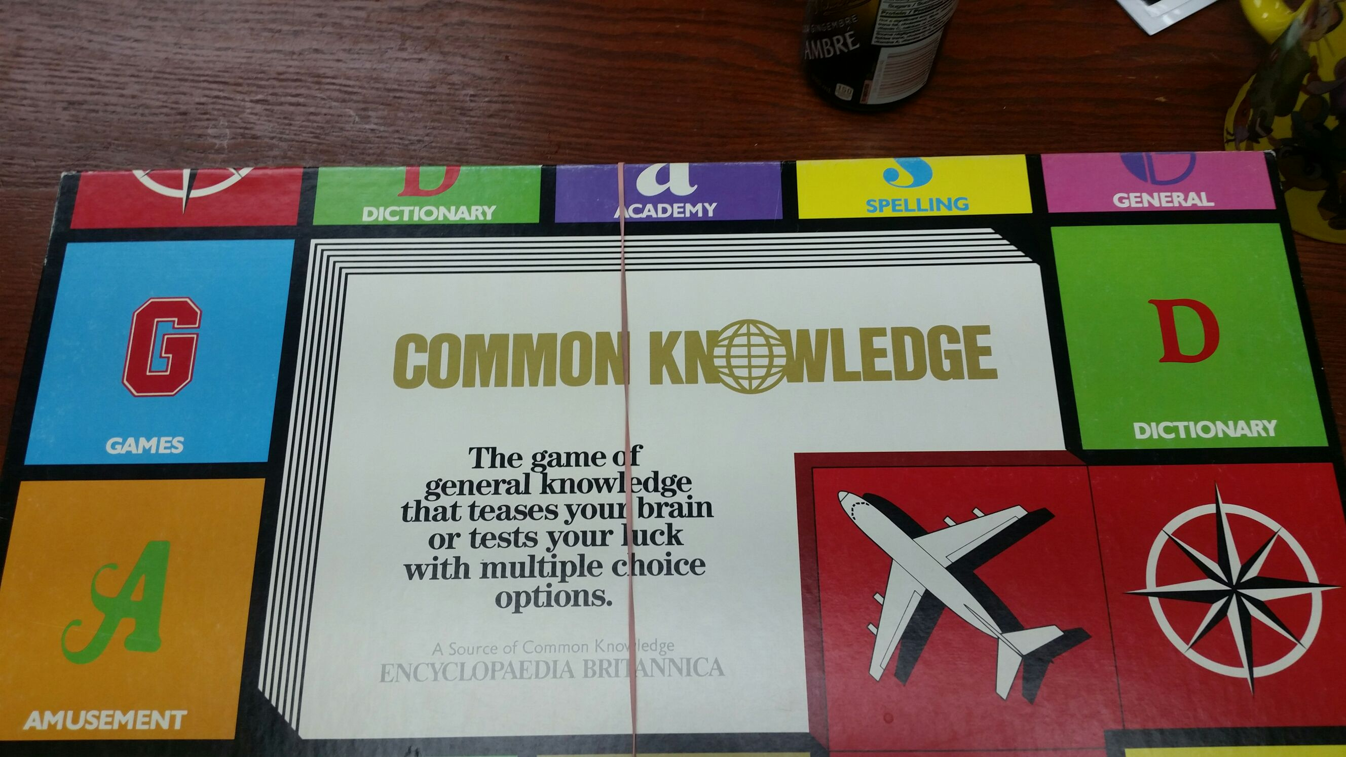 Common Knowledge Board Game front image (front cover)