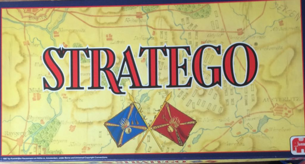 stratego board game jumbo from sort it apps