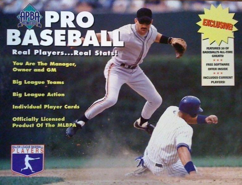 Apba Baseball Bargain Basement Edition Board Game Apba