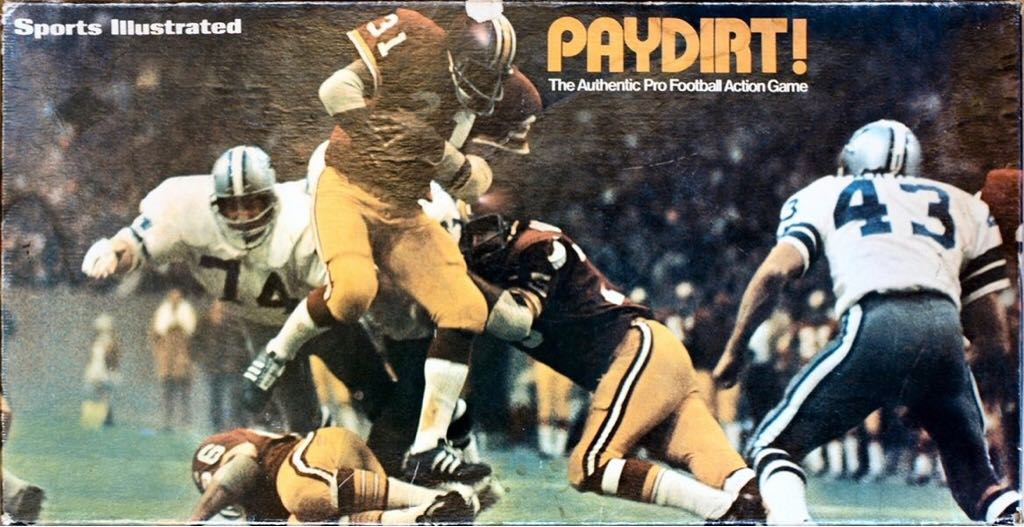 Paydirt Football Game