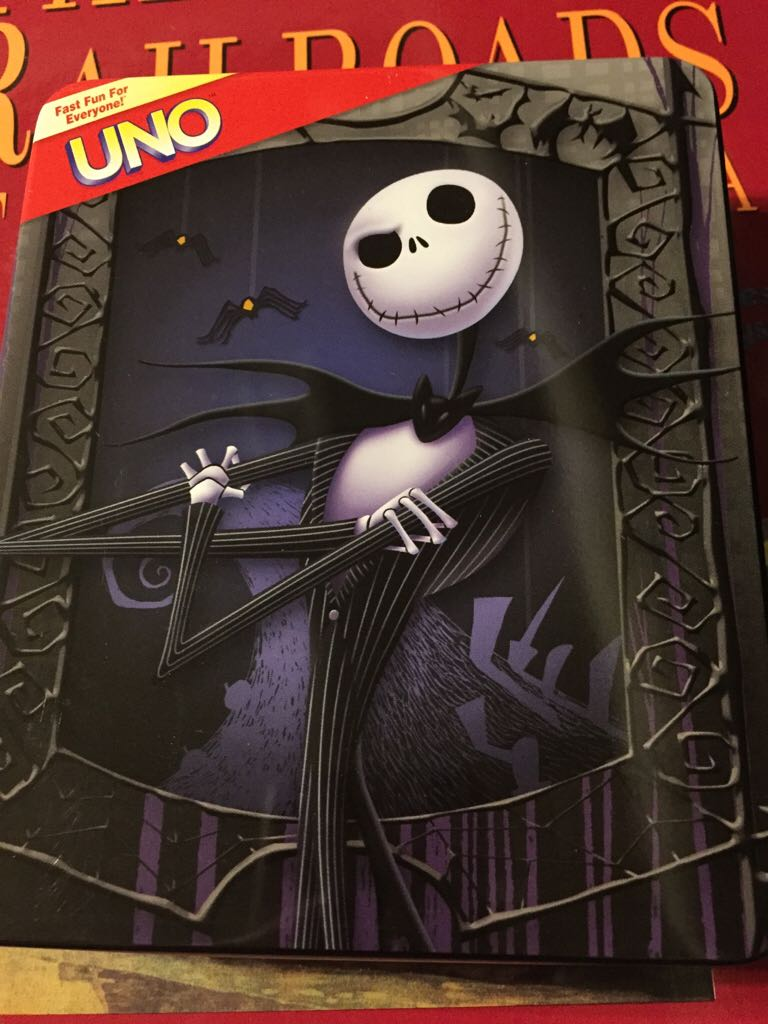 Uno Nightmare Before Christmas Board Game - from Sort It Apps