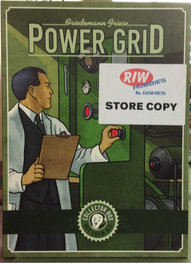 Power Grid Collector Box Board Game - from Sort It Apps