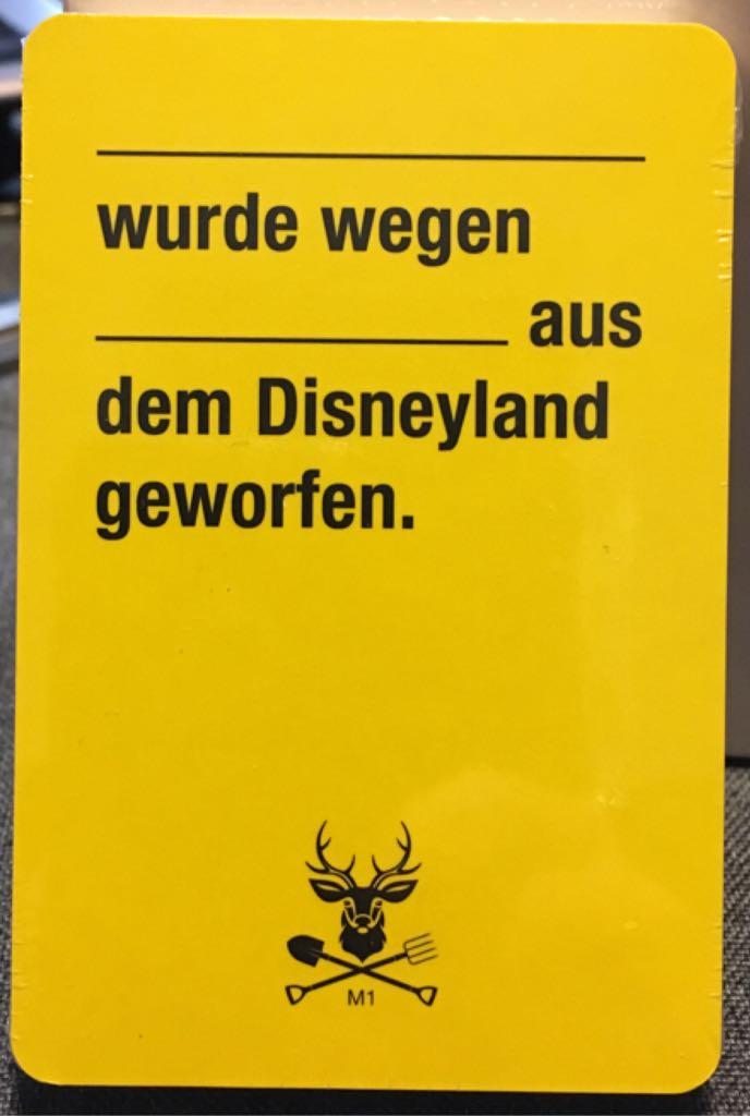 Kampf Gegen Das Spiessertum, Sonderkarten Board Game - Kampfhummel Spiele GmbH back image (back cover, second image)