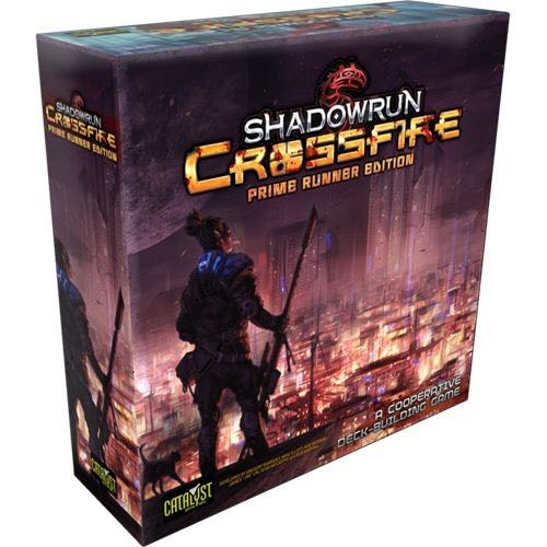Shadowrun Crossfire Prime Runner Edition Board Game front image (front cover)