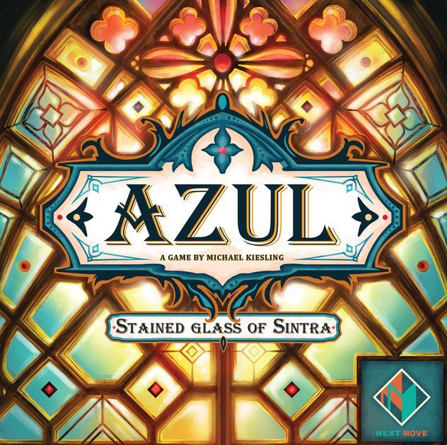 Azul: Stained Glassof Sintra Board Game - Next Move front image (front cover)