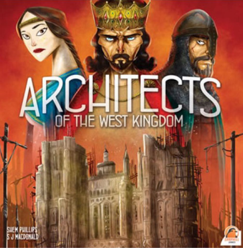Architects Of The West Kingdom Board Game - Renegade Games Studios front image (front cover)