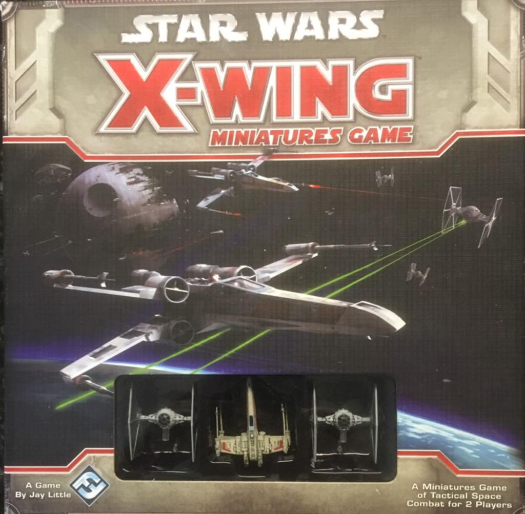 Star Wars: X-Wing Miniatures Game Board Game - Fantasy Flight Games front image (front cover)