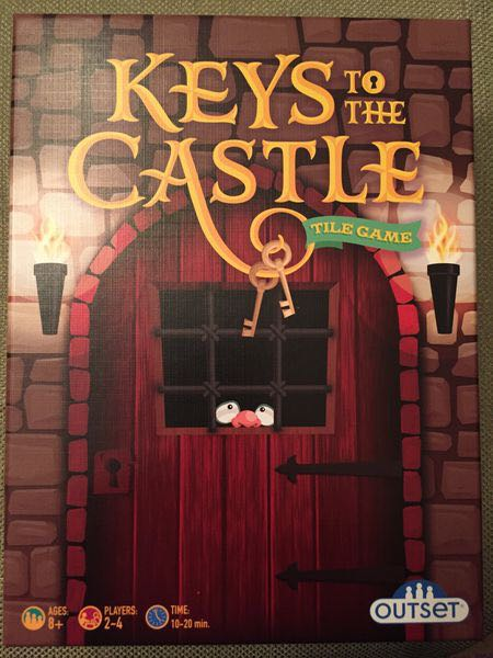 Keys To The Castle Board Game - Outset Media front image (front cover)