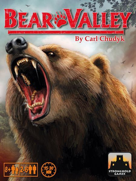 Bear Valley Board Game - Stronghold Games front image (front cover)