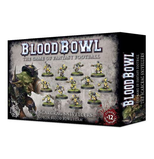 Blood Bowl: The Scarcrag Snivellers Board Game front image (front cover)