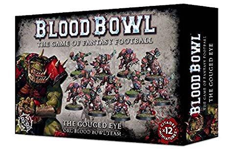 Blood Bowl: The Gouged Eye Board Game front image (front cover)