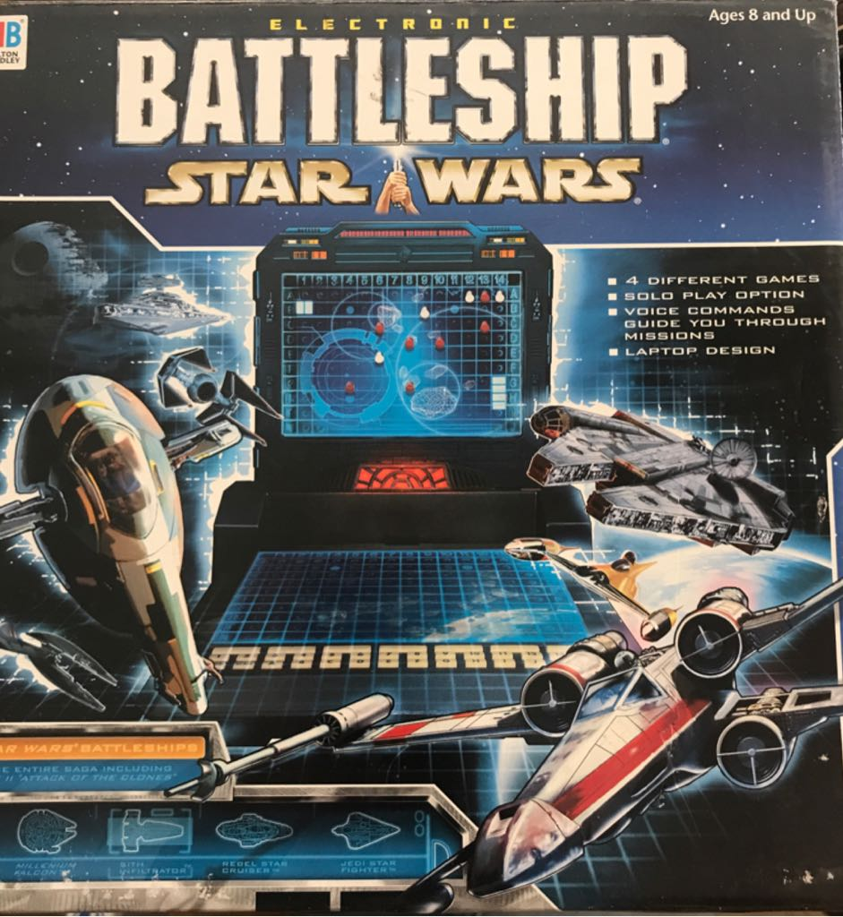 Battleship: Star Wars Board Game front image (front cover)