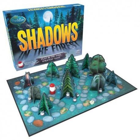 Shadows In The Forest Board Game - ThinkFun front image (front cover)