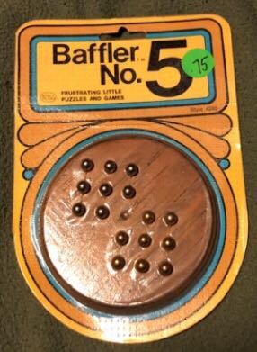 Baffled No. 5 Board Game (Puzzle) front image (front cover)
