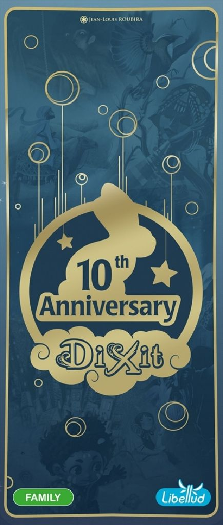 Dixit 10th Anniversary Board Game - Libellud (Card Game*Expansion*Fantasy*Party Game) front image (front cover)