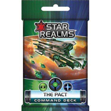 Star Realms The Pact Board Game front image (front cover)