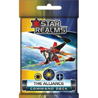 Star Realms The alliance Board Game front image (front cover)