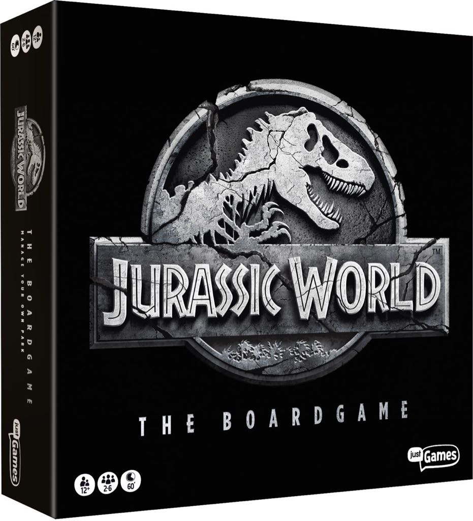 Jurassic World Board Game - Just Games front image (front cover)