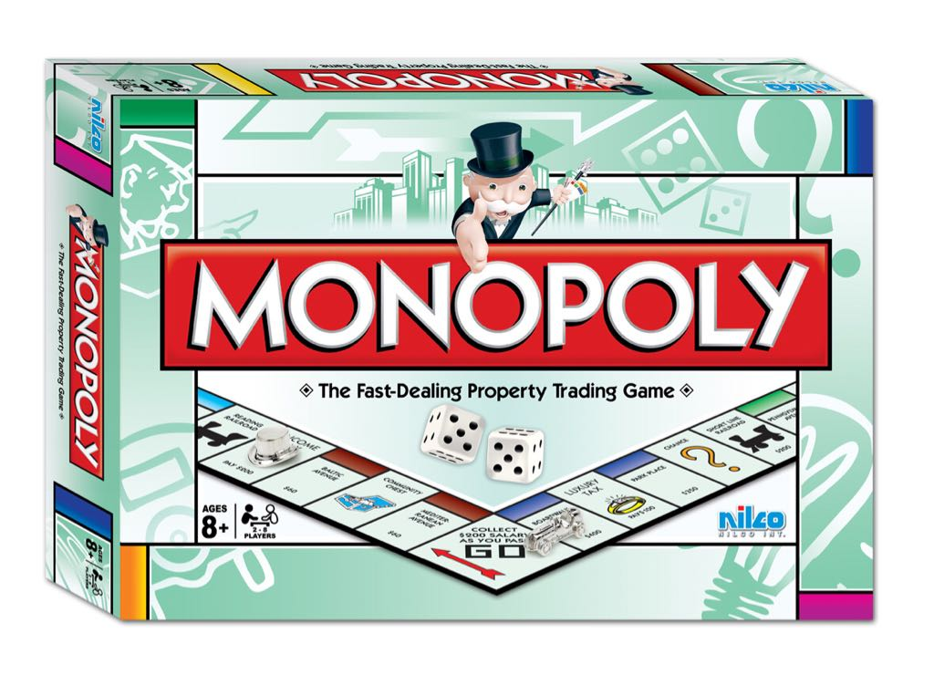 Monopoly Board Game front image (front cover)