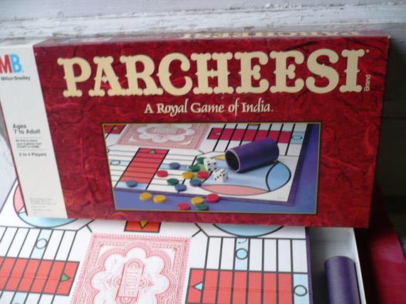 Parcheesi Board Game front image (front cover)