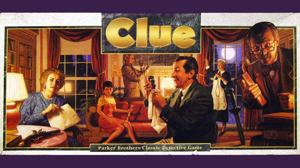 Clue Board Game front image (front cover)