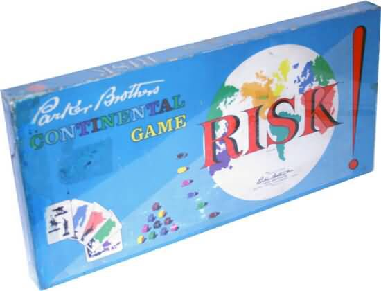 RISK Board Game front image (front cover)