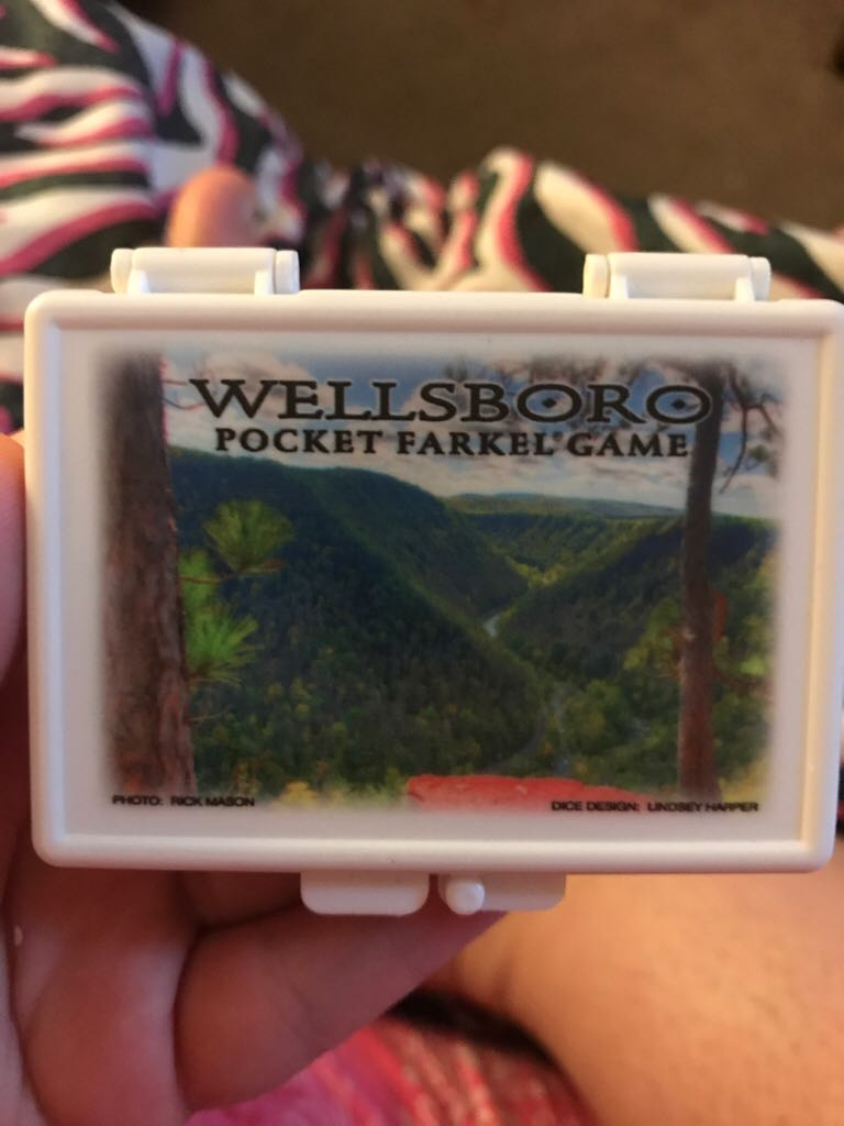 Farkle- Wellsboro Board Game front image (front cover)