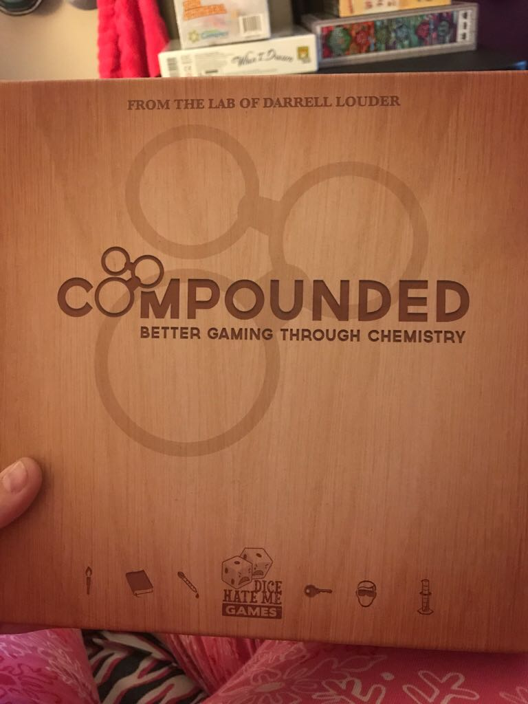 Compound Board Game front image (front cover)