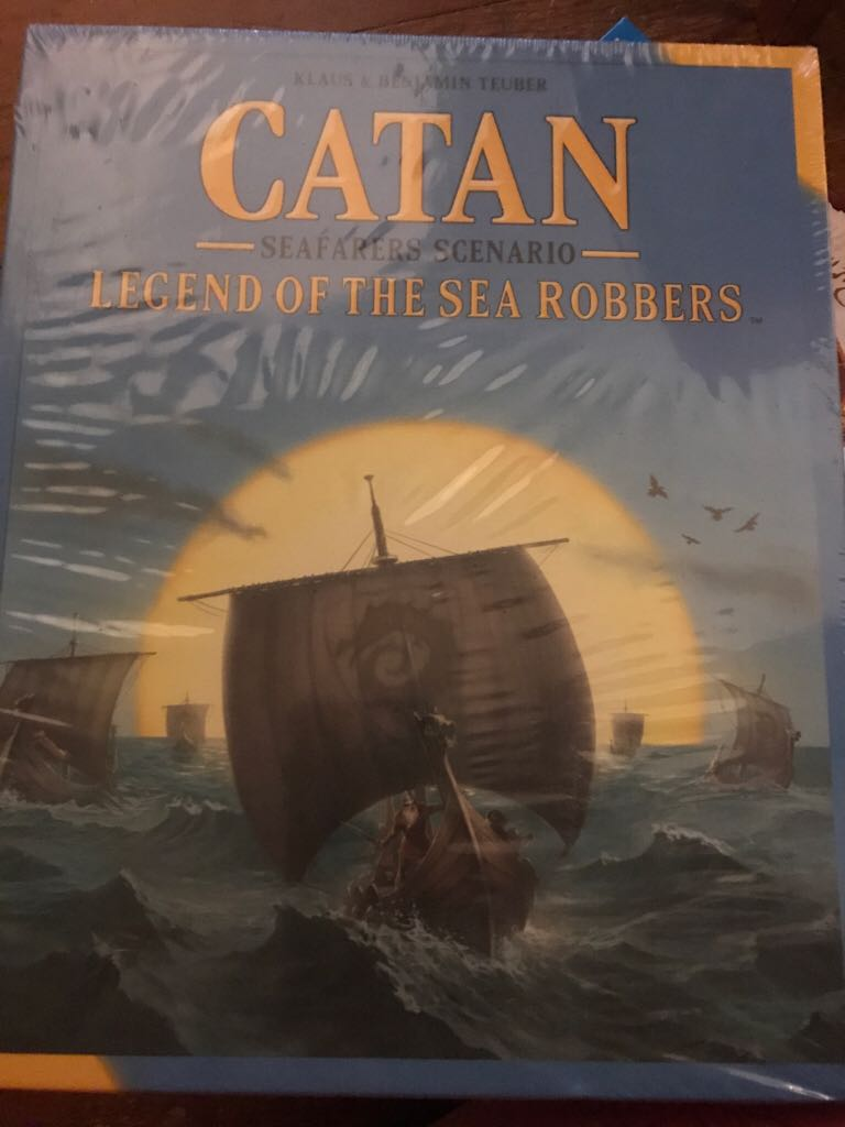 Catan Legend Of The Sea Robbers Board Game - Catan Studio front image (front cover)