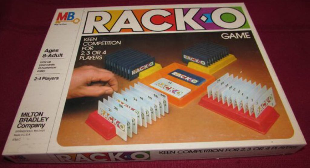Rack-O Board Game front image (front cover)
