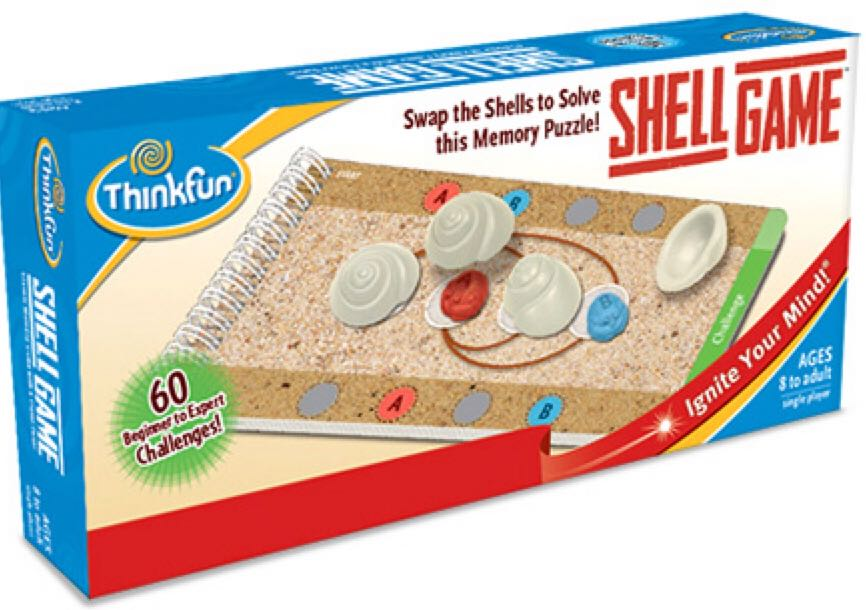 Shell Game Board Game front image (front cover)