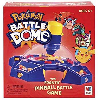 Pokemon Battle Dome Board Game front image (front cover)