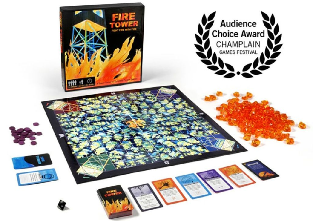 Fire Tower Board Game front image (front cover)