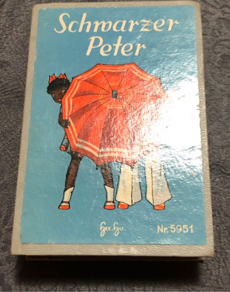 Schwarzer Peter Board Game front image (front cover)
