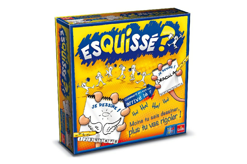 Esquissé? Board Game - Goliath (Deduction*Party Game) front image (front cover)