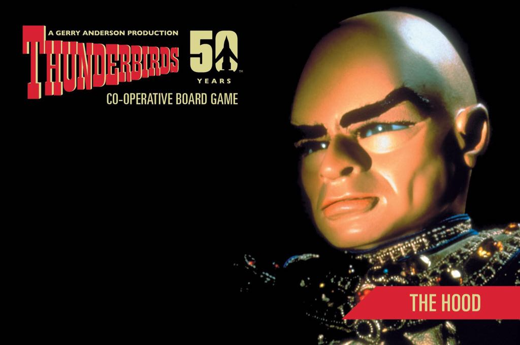 Thunderbirds The Hood Board Game front image (front cover)