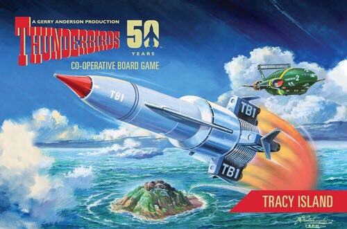 Thunderbirds Tracy Island Expansion Board Game front image (front cover)