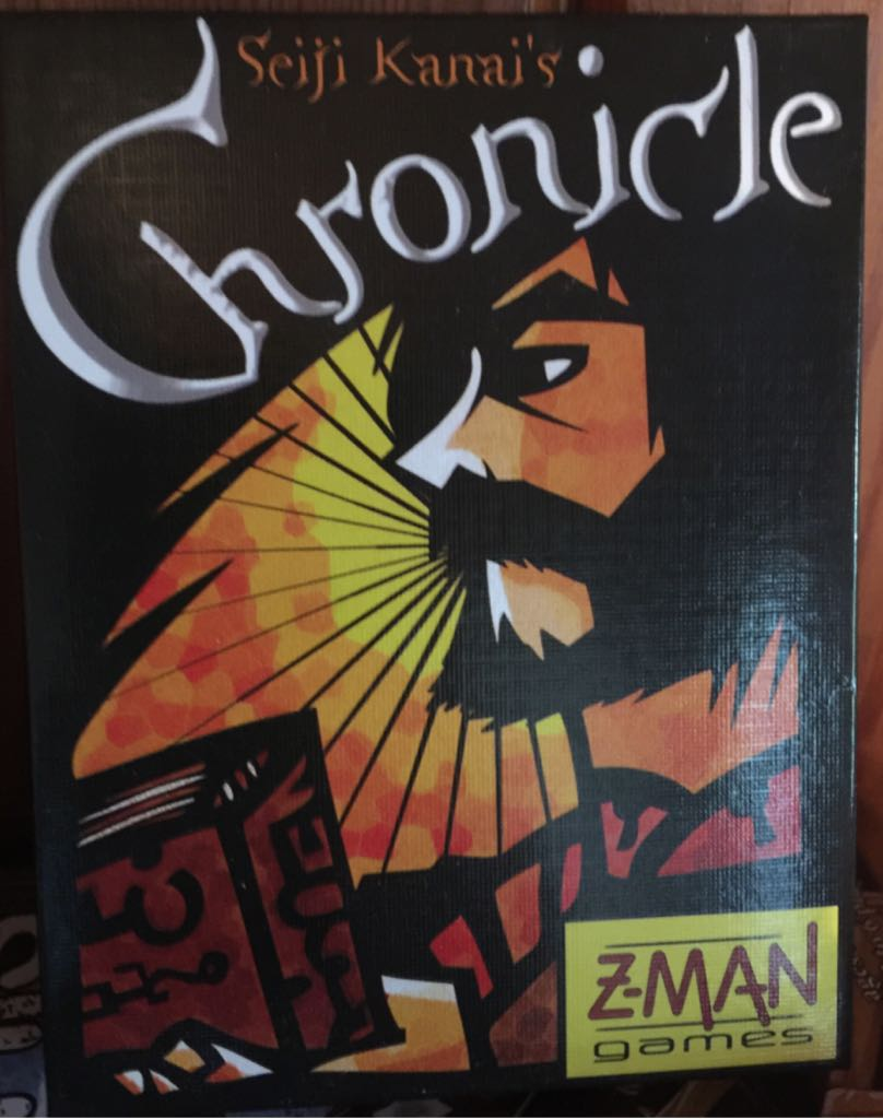 Chronicle Board Game front image (front cover)