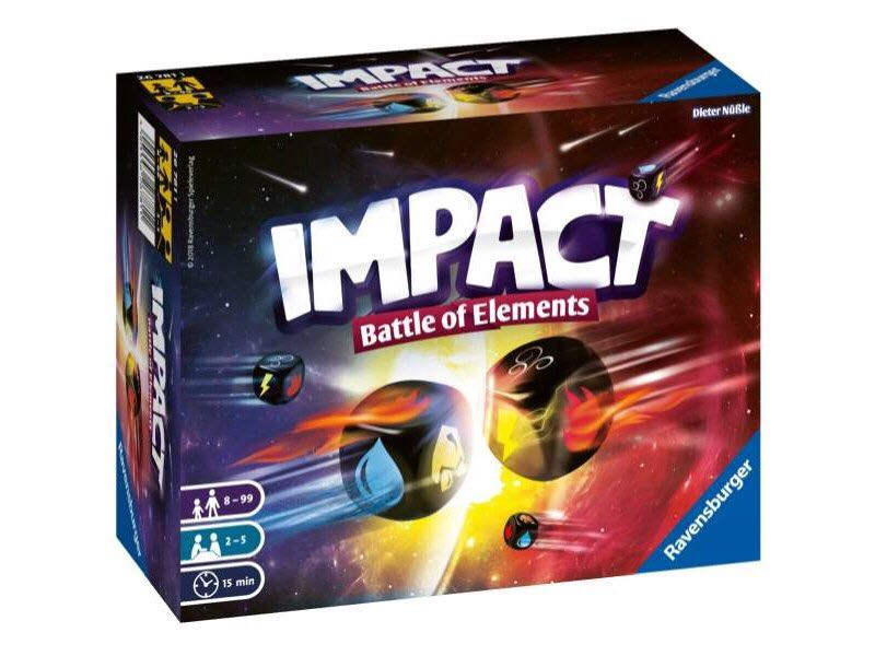 Impact Battle Of Elements Board Game front image (front cover)