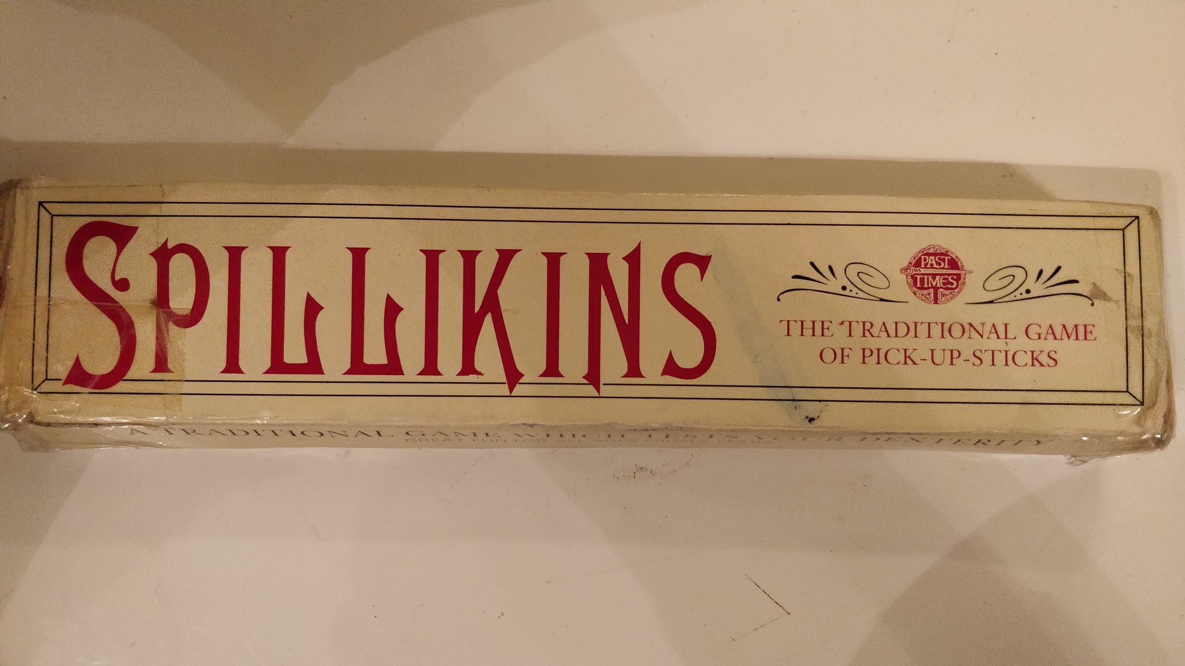Spillikins Board Game - Past times (Building) front image (front cover)