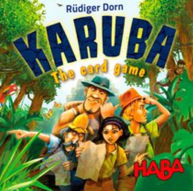 Karuba: The Card Game Board Game front image (front cover)