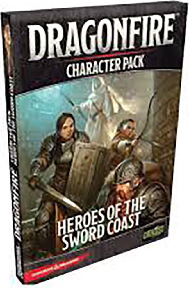 Dragonfire Character Pack: Heroes Of The Sword Coast Board Game front image (front cover)