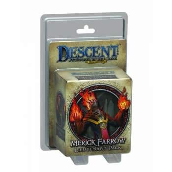 Descent 2 Merick Farrow Board Game front image (front cover)