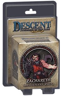 Descent 2 Zachareth Board Game front image (front cover)