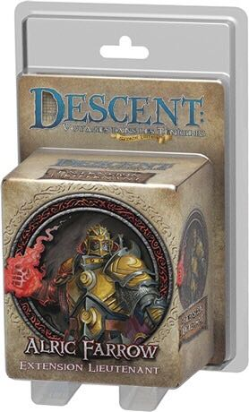 Descent 2 Alric Farrow Board Game front image (front cover)