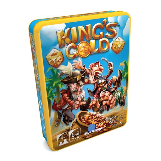 Kings Gold Board Game front image (front cover)
