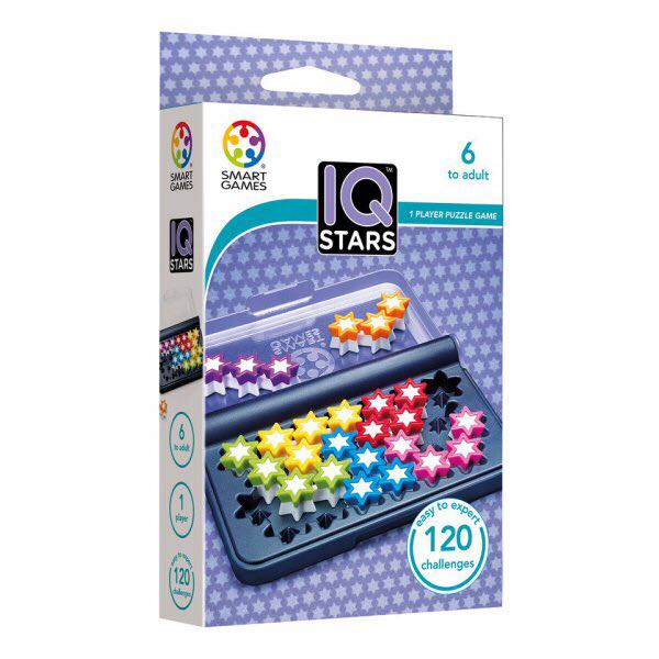 Iq Stars Board Game - Smart Games front image (front cover)