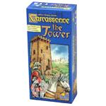 Carcassone The Tower Board Game front image (front cover)