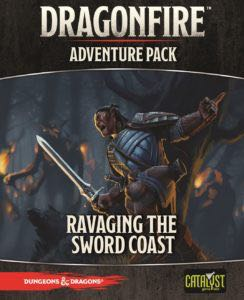 Dragonfire Adventure Pack: Ravaging The Sword Coast Board Game front image (front cover)